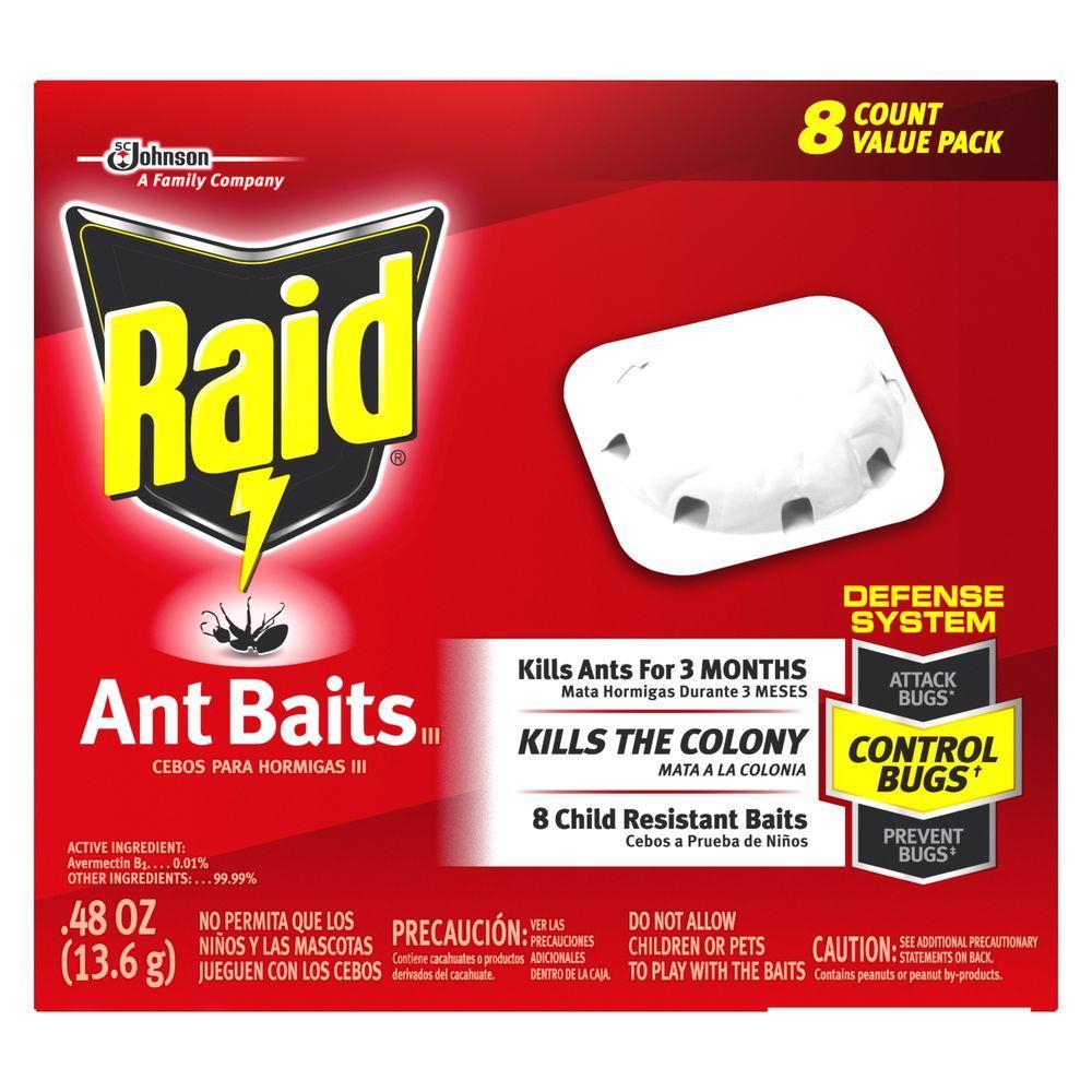 Raid Ant Baits (8-Count)