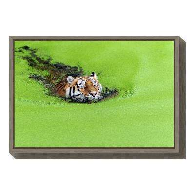 """Relaxation"" by Keller Framed Canvas Wall Art"