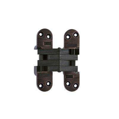 1-3/8 in. x 5-1/2 in. Oil Rubbed Bronze 20-Minute Fire Rated Invisible Hinge