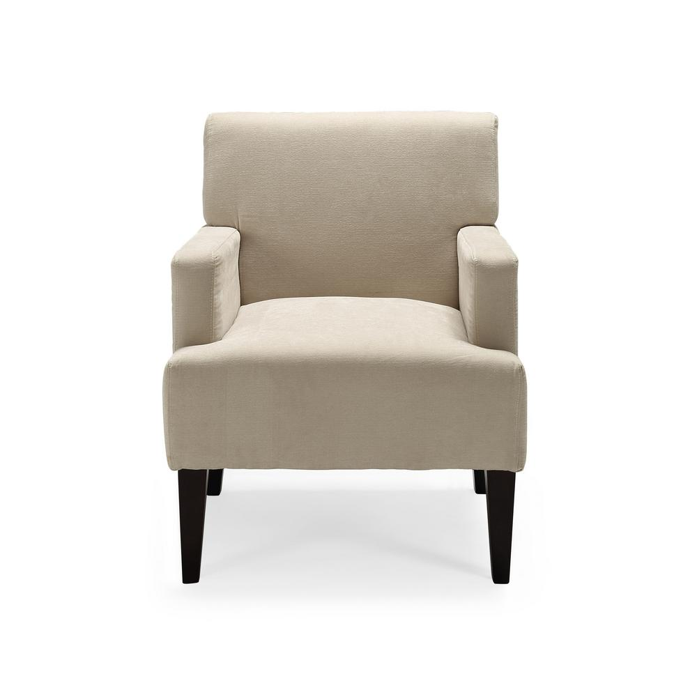 Tux Ivory Accent Chair Ac Tx Lc023 1d The Home Depot