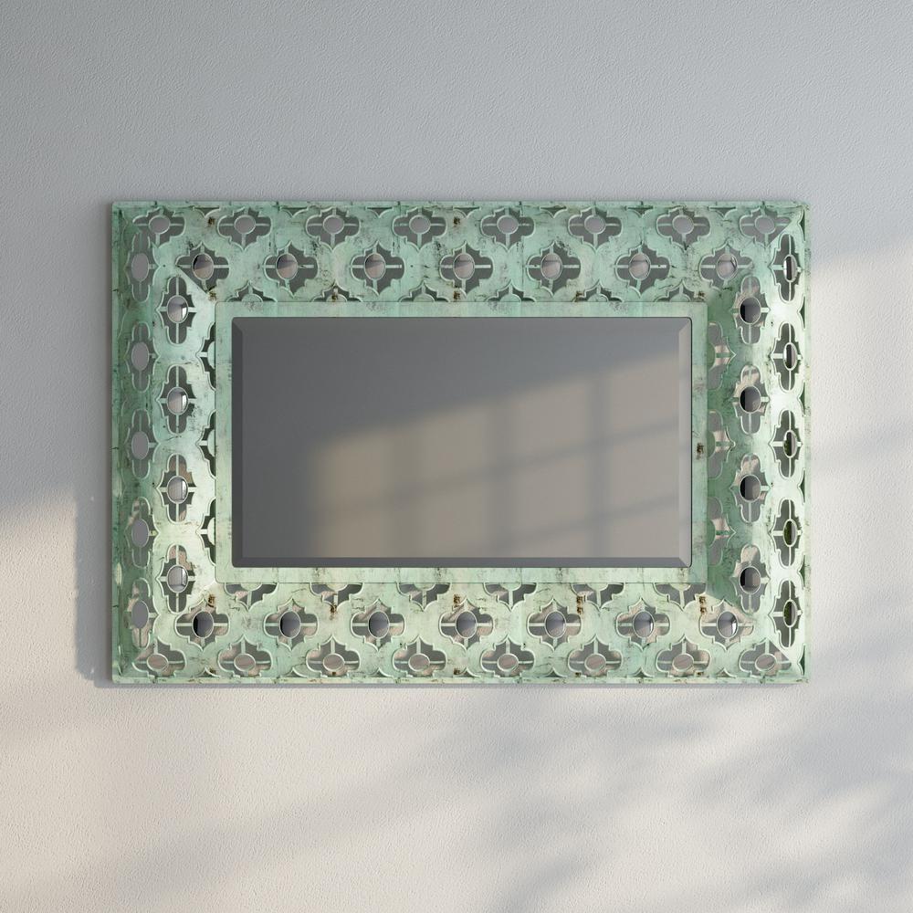 43.5 in. H x 30 in. W Mitzi Decorative Mirror