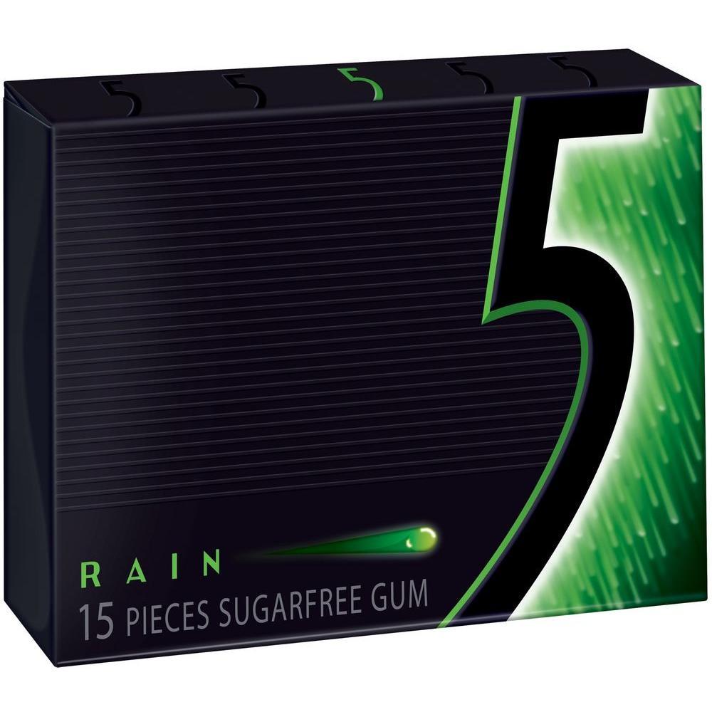 Wrigley's 5 Rain Gum 15 pcs. (10-Pack)