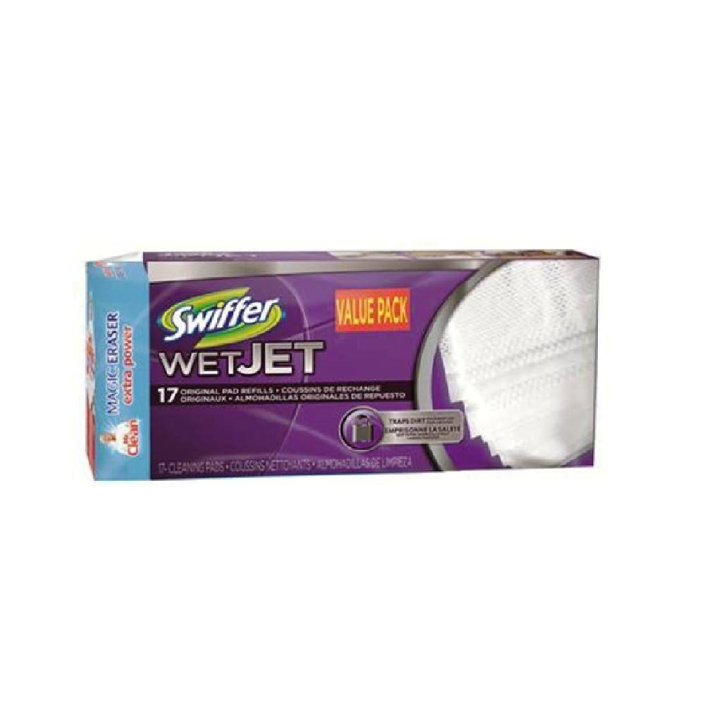 Swiffer Wetjet Cleaning Pad Refills Value Pack 17 Count