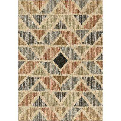 Nairobi Plush Chevron Multi 7 Ft. 10 In. X 10 Ft. 10 In