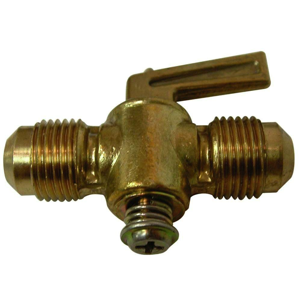 3/8 in. Lead-Free Brass Flare Shut Off Cock