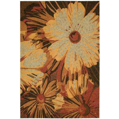 South Beach Multicolor 8 ft. x 11 ft. Indoor/Outdoor Area Rug