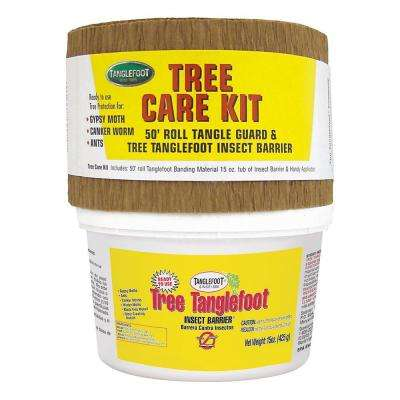 Tree Care Kit - Tree Insect Barrier and Tangle-Guard Wrap Combo