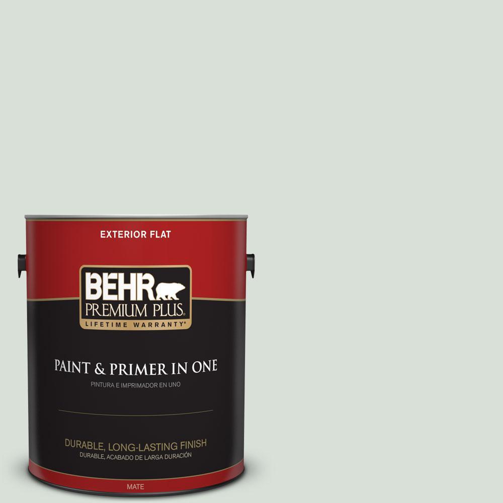 1-gal. #N420-1 Juniper Breeze Flat Exterior Paint