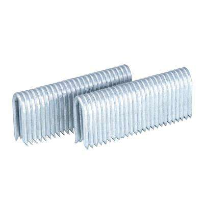1-9/16 in. 10.5-Gauge Galvanized Steel Fencing Staples (1500-Pack)