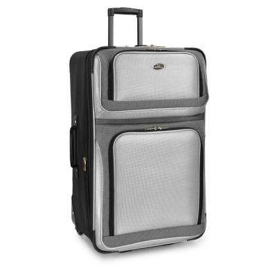 New Yorker 29 in. Grey Rolling Luggage