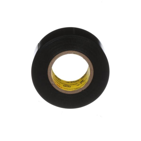 3m Cold Weather 3 4 In X 25 Ft Electrical Tape Black 16736na The Home Depot