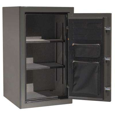 Sanctuary Platinum Series 36.25 in. Tall Fire/Water Proof Safe with Electronic Lock in Graphite Gloss