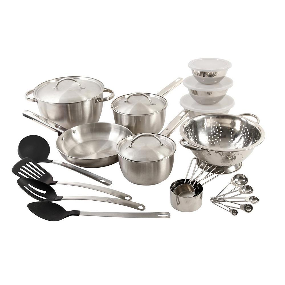 Total Kitchen Grantsville 27-Piece Cookware Combo Set