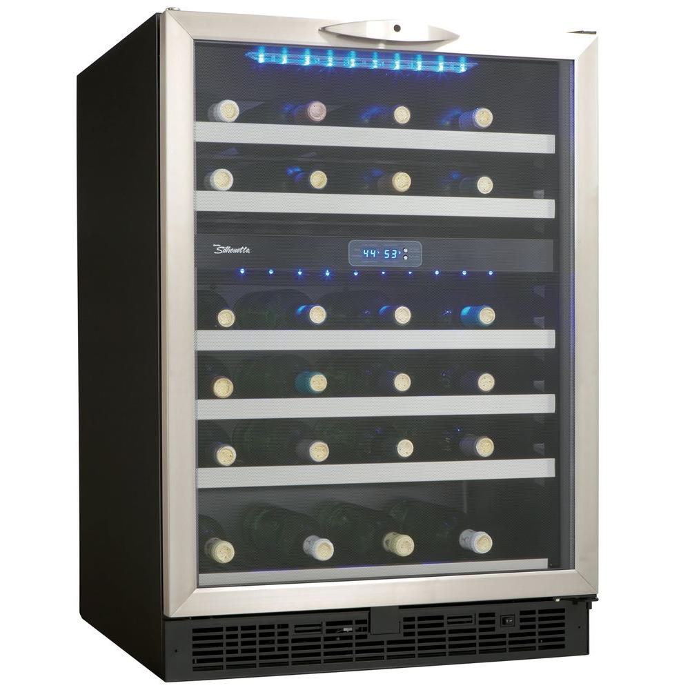 Danby Silhouette 51 Bottle Built In Wine Cooler Dwc518bls