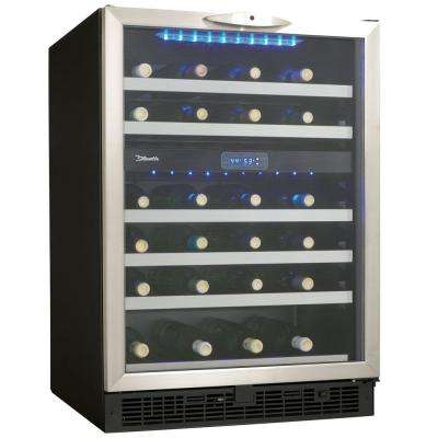 Silhouette 51-Bottle Built-In Wine Cooler