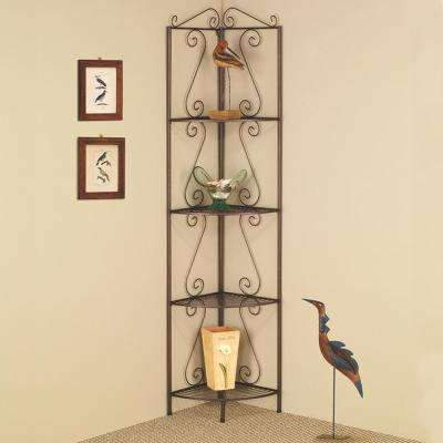 Krumrei Copper Corner Bookcase