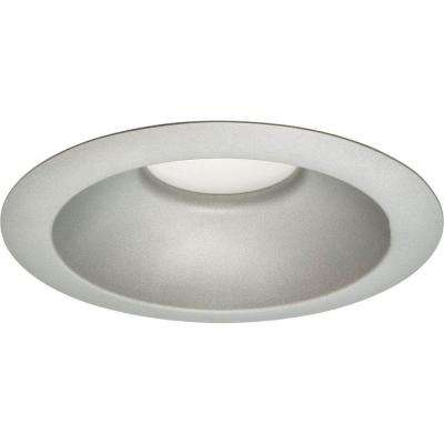 6 in. Metallic Gray Recessed LED Trim