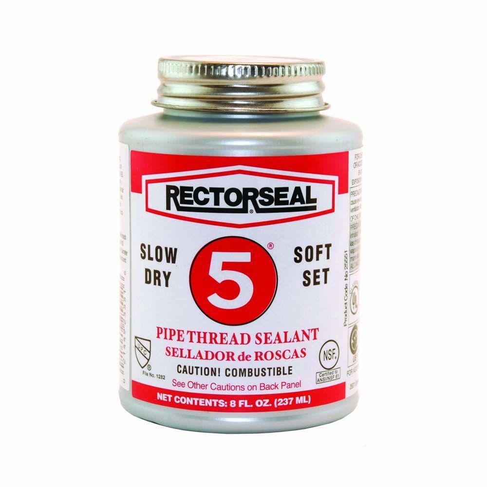 RectorSeal 8 oz. No.5 Pipe Thread Sealant