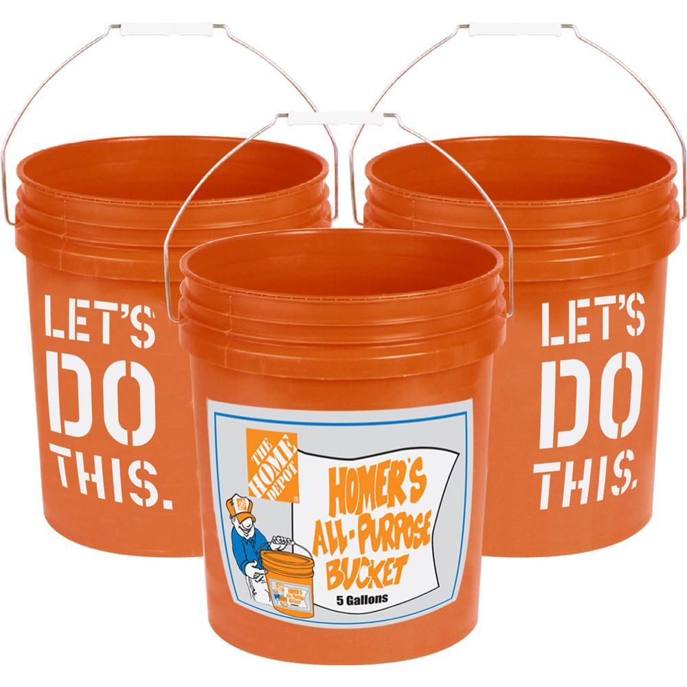 The Home Depot 5 gal. Homer Bucket (20-Pack)