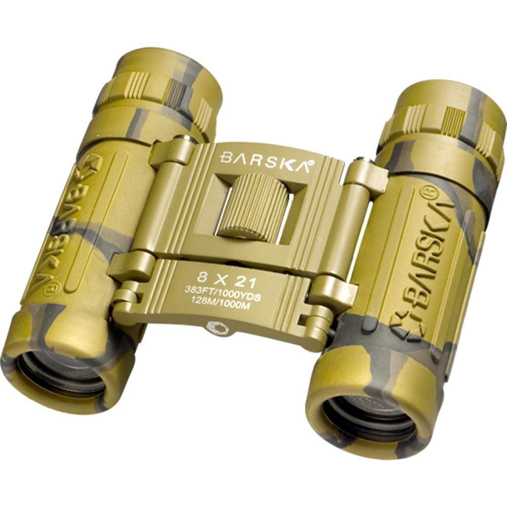 Lucid View 8 mm x 21 mm Camo Binoculars