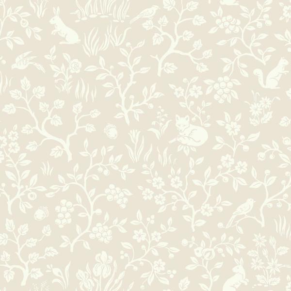 Magnolia Home by Joanna Gaines 56 sq. ft. Fox and Hare Wallpaper