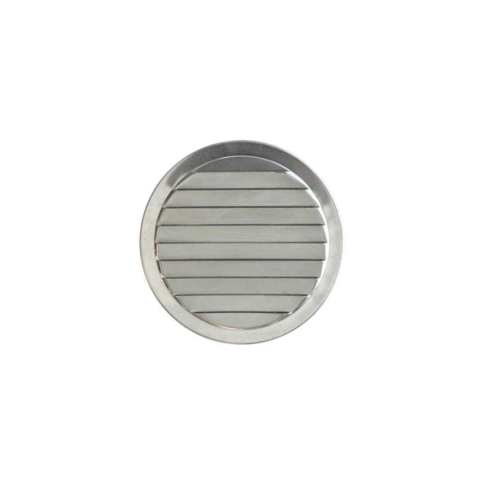 2 in. Aluminum Round Mini Louver Vent