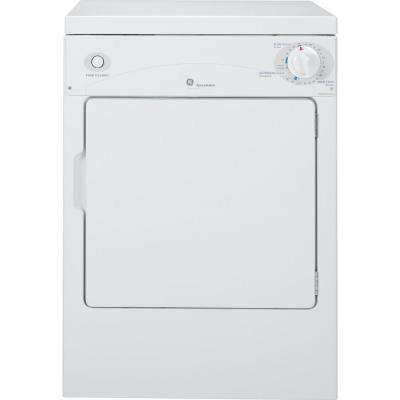 Spacemaker 3.6 cu. ft. Portable Electric Compact Dryer in White