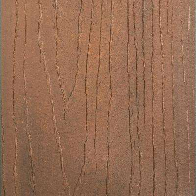 Infuse 1 in. x 5-3/8 in. x 12 ft. Rosewood Grooved Edge Composite Decking Board (10-Pack)
