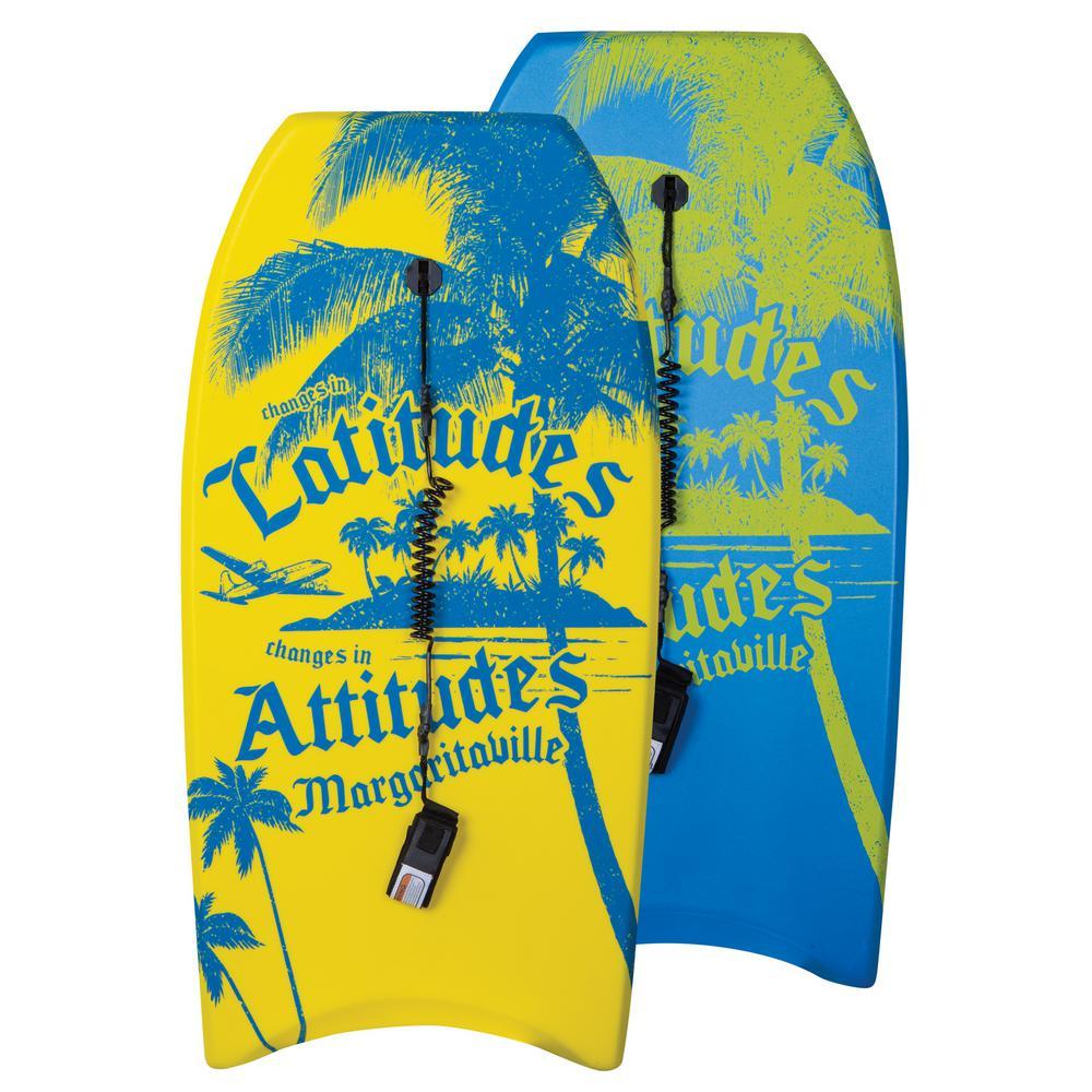 Latitude and Attitude 42 in. Yellow Single Body Board