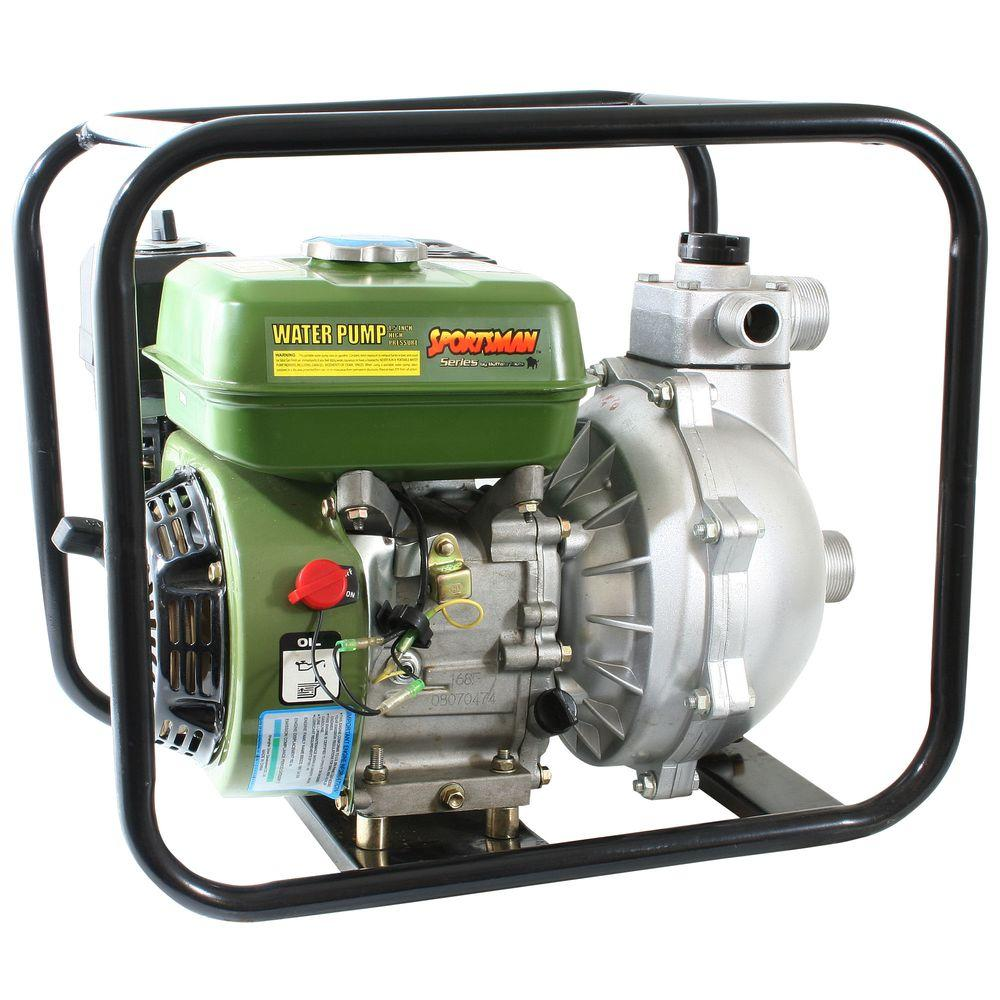 Sportsman 5.5 HP 2 in. Gas-Powered Utility Water Pump-DISCONTINUED