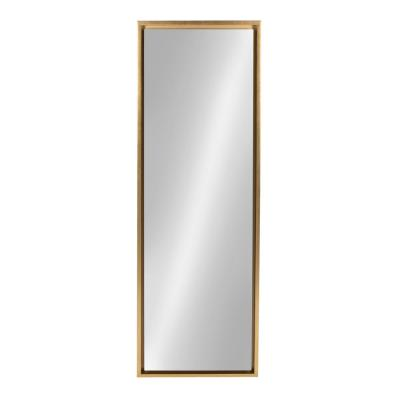 Evans Rectangle Gold Mirror