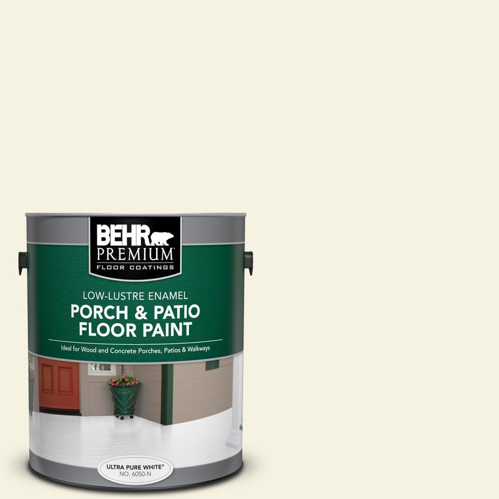 BEHR Premium 1 gal. #M310-1 Tibetan Jasmine Low-Lustre Enamel Interior/Exterior Porch and Patio Floor Paint