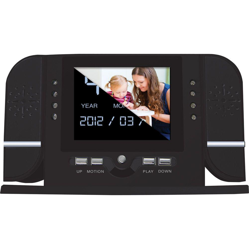 Night Owl Covert Video LCD Alarm Clock with 8GB Micro SD Card-DISCONTINUED