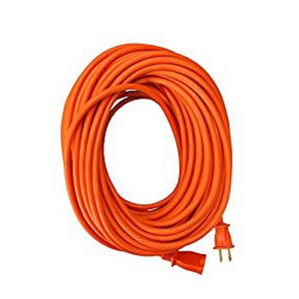 100 ft. 16/2 SJTW Outdoor Light-Duty Extension Cord, Orange
