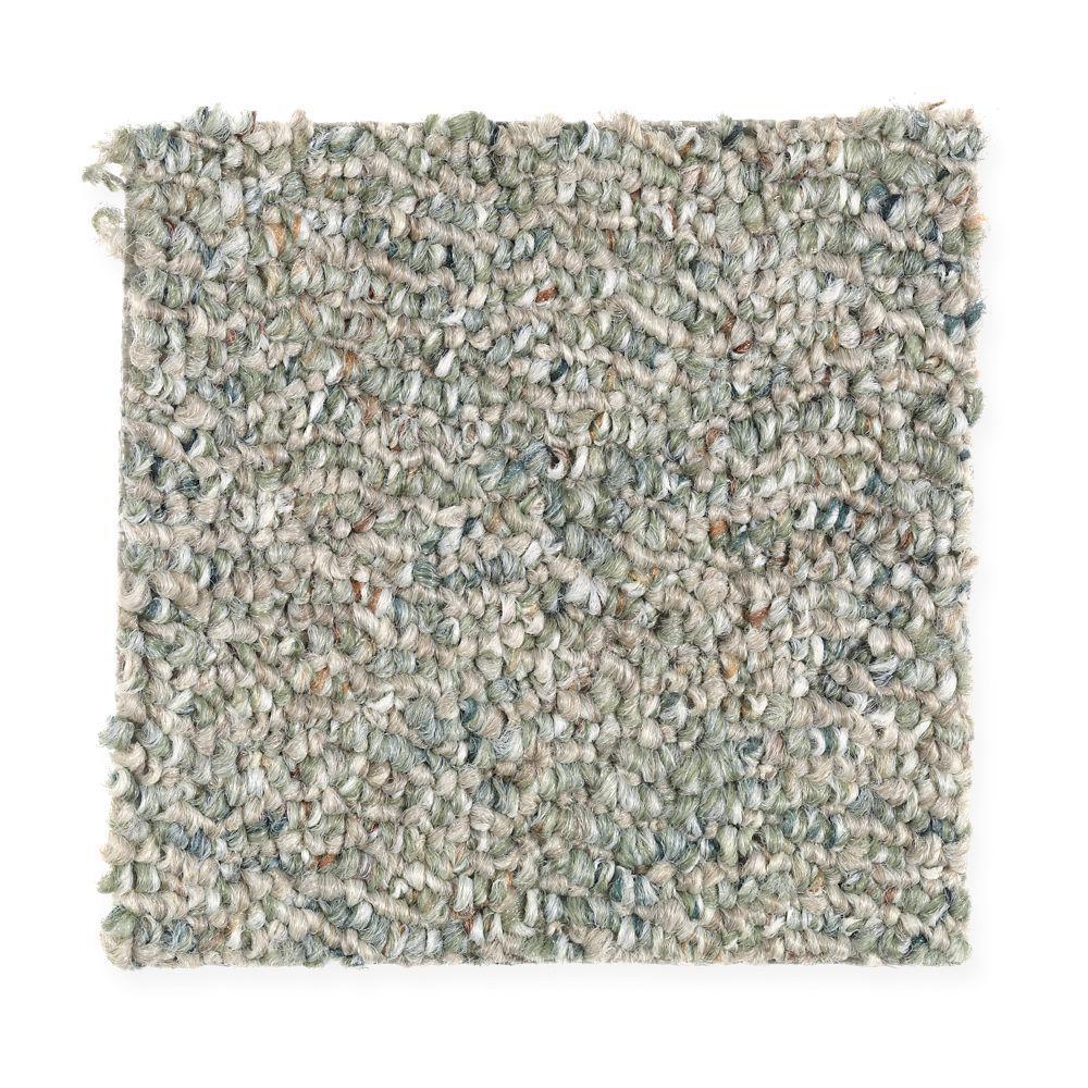 Carpet Sample - Kent - Color Organic Berber 8 in. x 8 in.