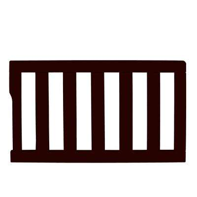 Universal Dark Brown Toddler Rail (1-Pack)