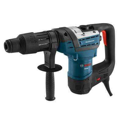 12 Amp 1-9/16 in. Corded Variable Speed SDS-Max Combination Rotary Hammer Drill with Auxiliary Handle and Carrying Case