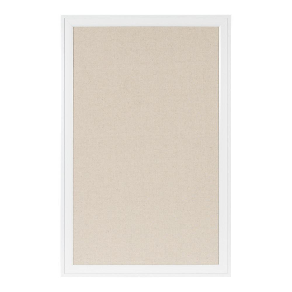 Bosc White Pinboard Memo Board