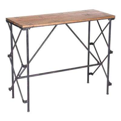 Esquil Brown Console Table