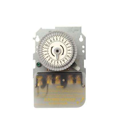 40-Amp 208-277-Volt DPST 24-Hour Mechanical Time Switch Mechanism Replacement for Metal Indoor/Outdoor Enclosure