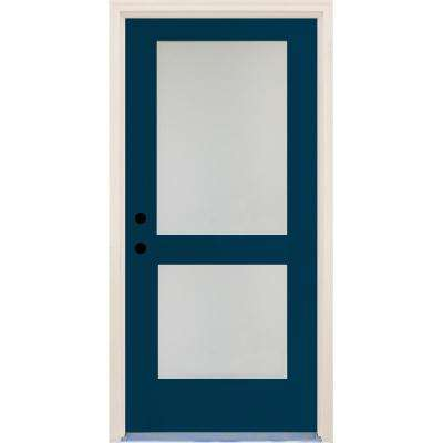 Modern Blue Energy Star Front Doors Exterior Doors The