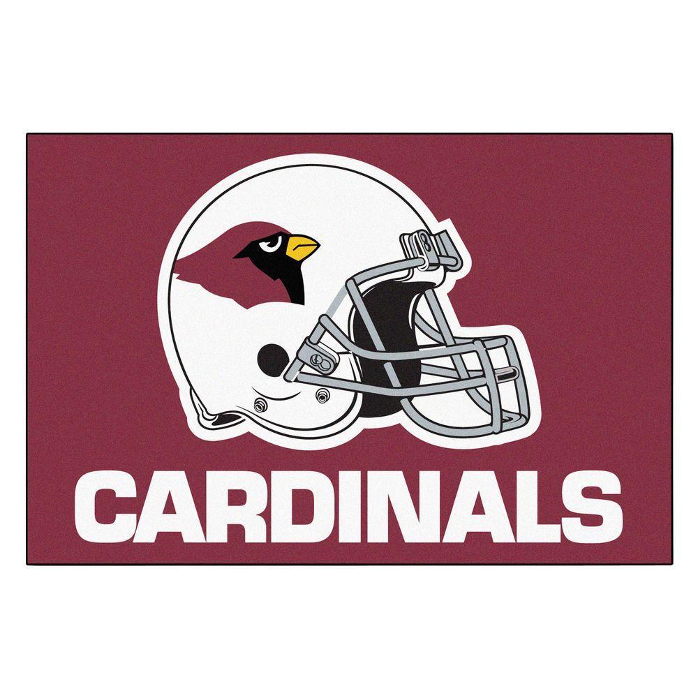 Arizona Cardinals 19 in. x 30 in. Accent Rug