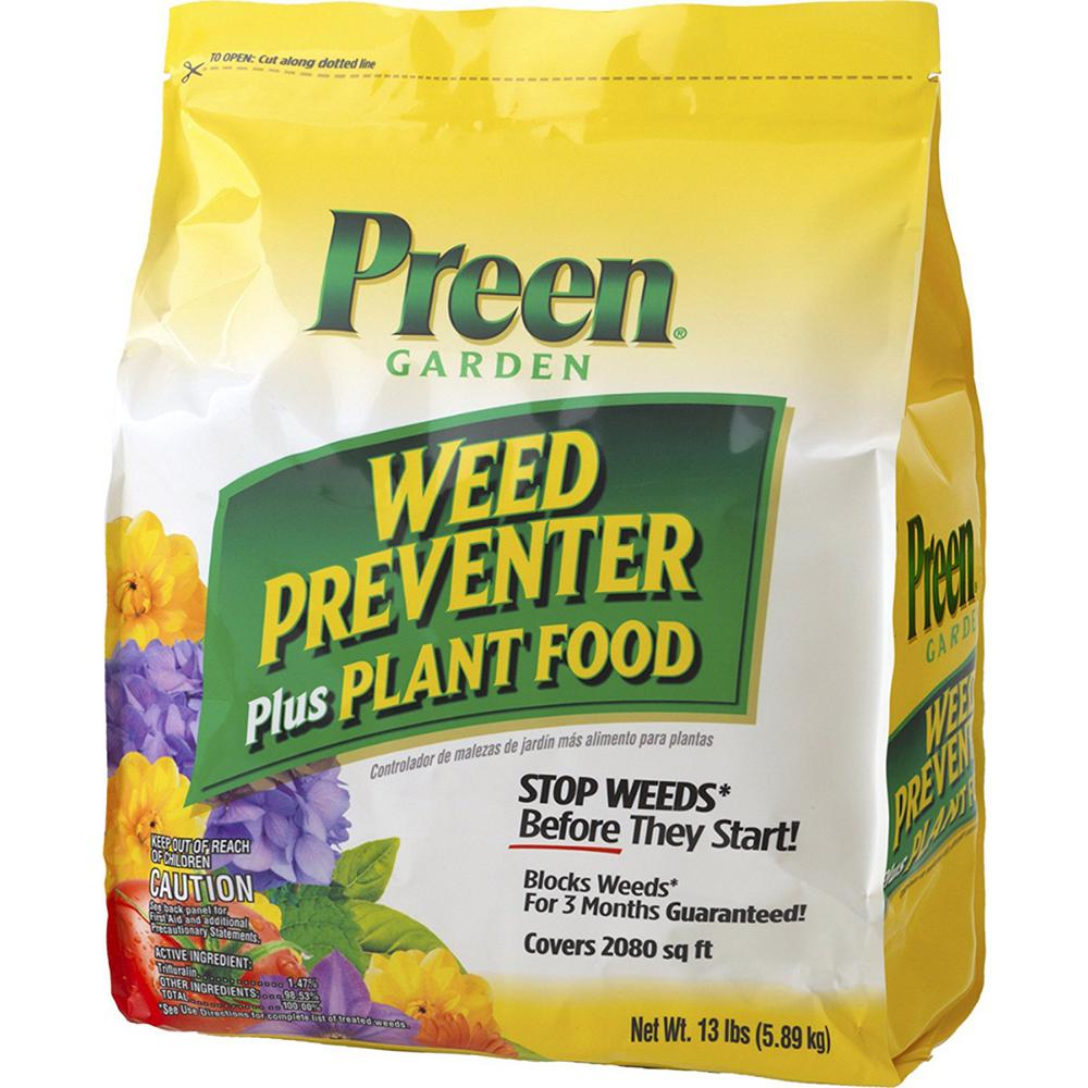 13 lbs. Garden Weed Preventer Plus Plant Food