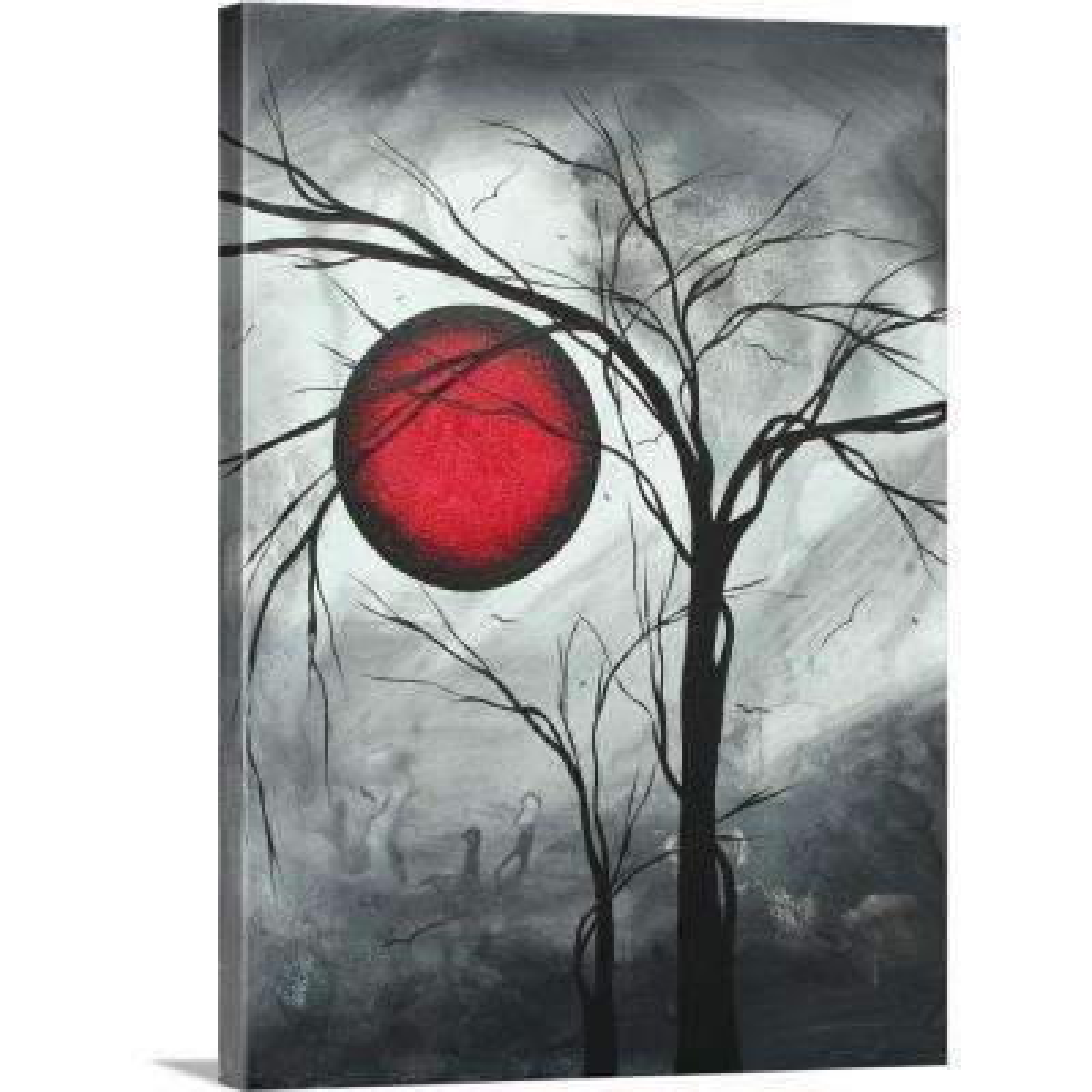 """Lunar Moon II"" by Megan Duncanson Canvas Wall Art"