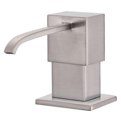 Sirius Soap and Lotion Dispenser in Stainless Steel