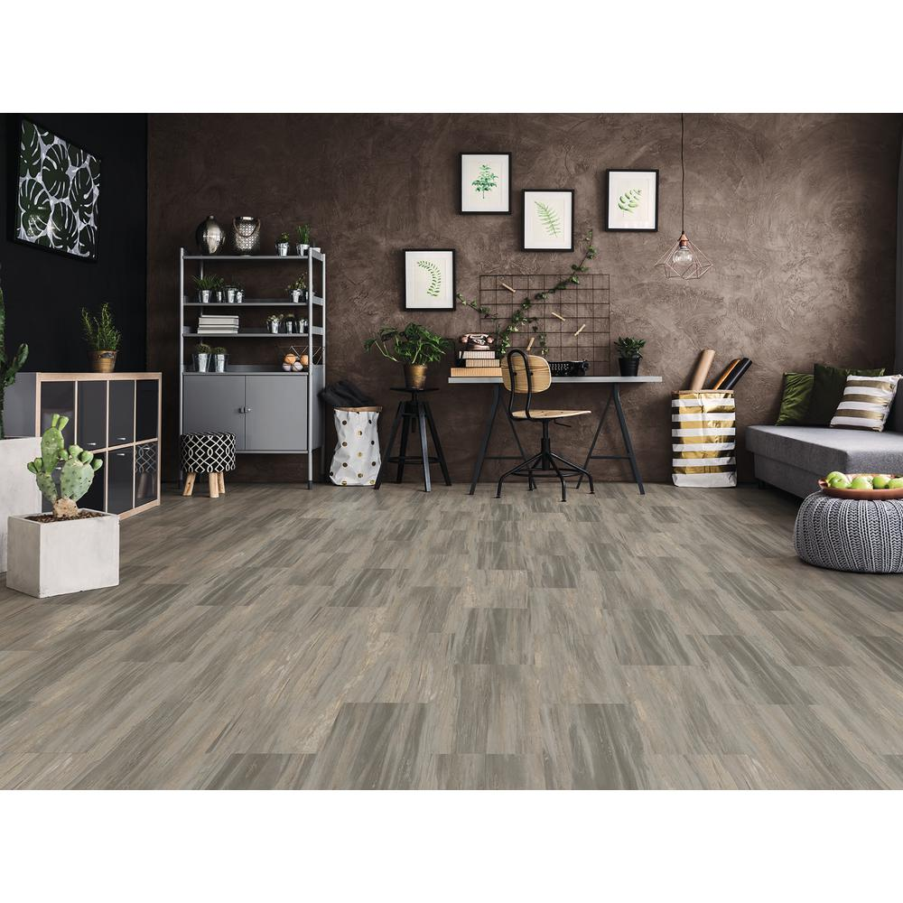 Earthwerks Parkhill Tile Strata 12 in. x 24 in. 2G Click Luxury Vinyl on brown and living room ideas, brown kitchen cabinets, brown and white area, oak and white kitchen ideas, brown cabinets with white appliances, black and white kitchen ideas,