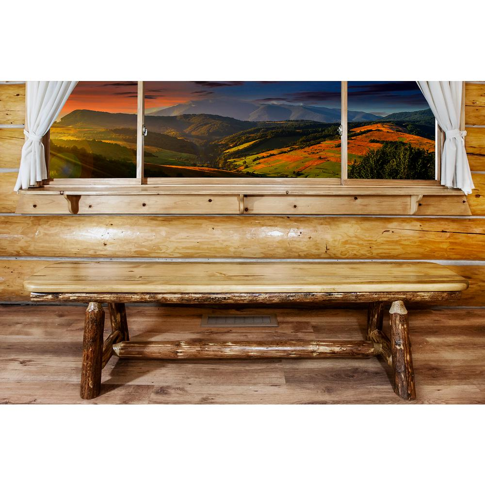 Montana Glacier Country Puritan Pine Bench Product Picture