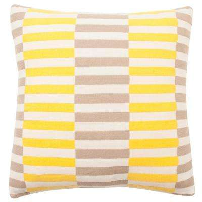 Multi Blocks Printed Patterns Pillow