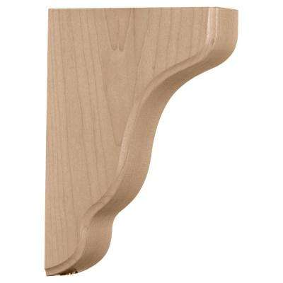 1-3/4 in. x 7-1/4 in. x 9-1/2 in. Red Oak Plymouth Wood Bracket