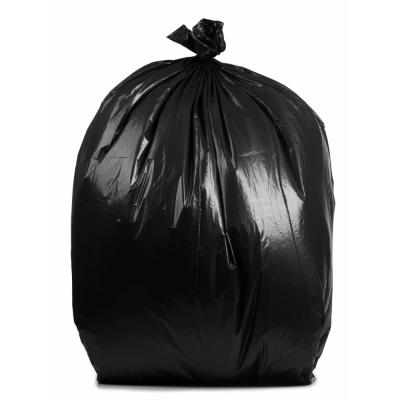 40 Gal. 16 mic 40 in. x 48 in. Clear Trash Bags (250-Count)